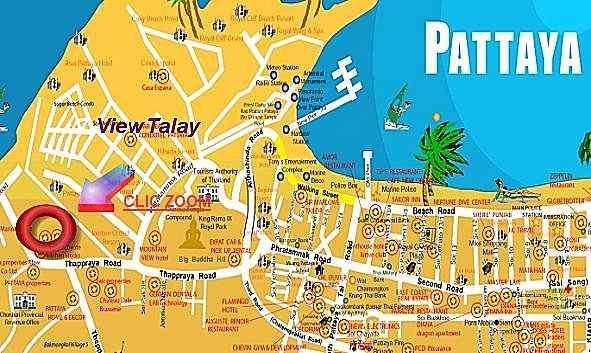 Plan Thailande Pattaya
